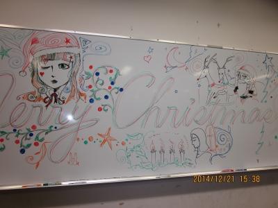 ホワイトボードアート