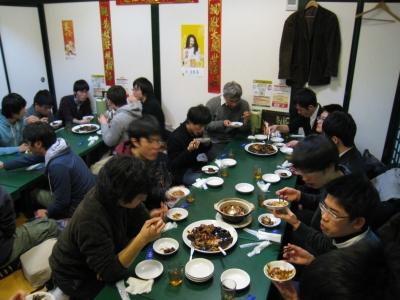 筑波大交流会2015 食事会2