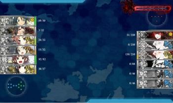 E-3-Z夜戦8戦目終了