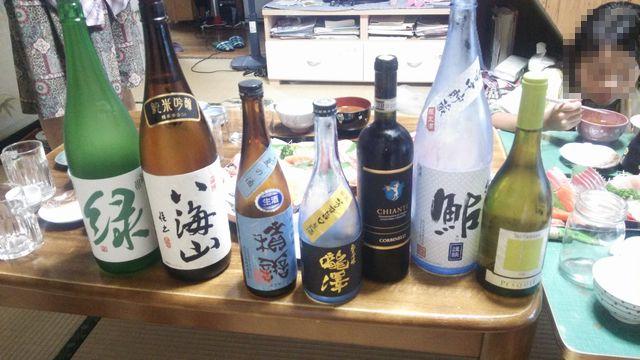2015夏 盆 新潟 酒