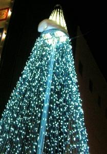 クリスマスと夜景 001