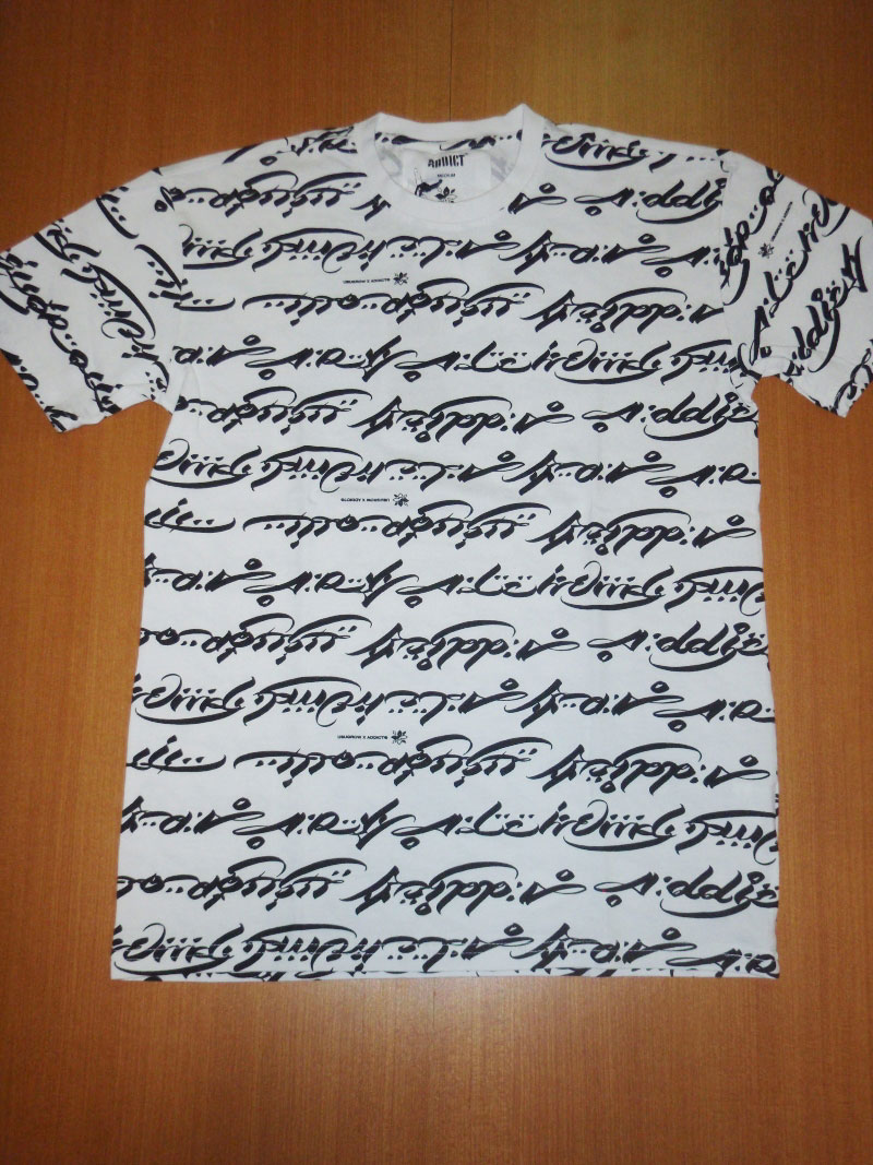 ADDICT USUGROW HOLIDAY 2014 Tee Tシャツ STREETWISE ストリートワイズ 神奈川 湘南 藤沢 スケート ファッション ストリートファッション ストリートブランド