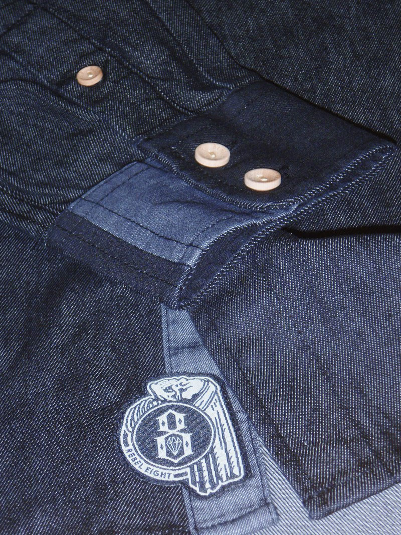 2015 Fall REBEL8 Shirt ButtonUp STREETWISE ストリートワイズ レベルエイト シャツ 神奈川 藤沢 湘南 スケート ファッション ストリートファッション ストリートブランド