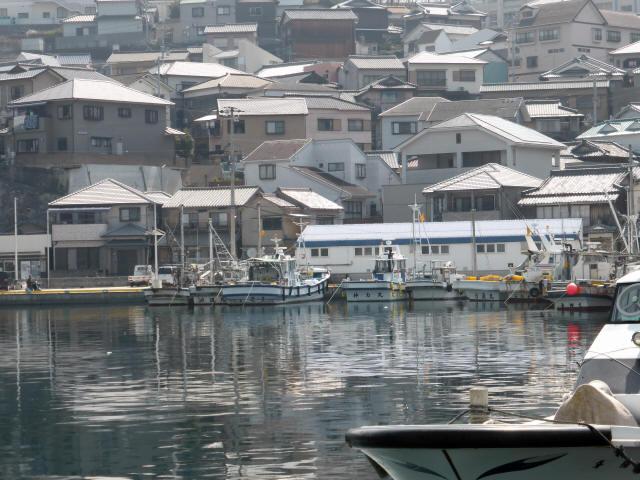家島の港町風景4