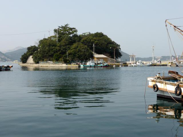 家島の港町風景5