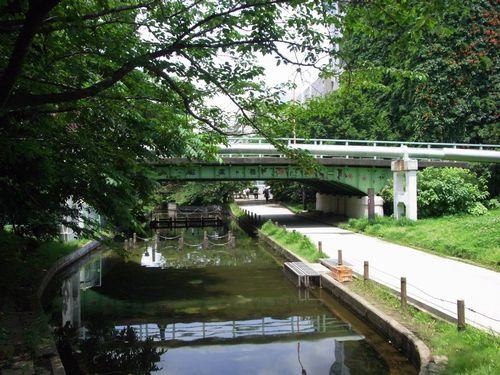 大横川親水公園緑道1