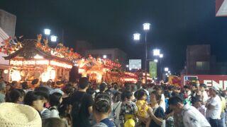壬生の八坂祭りにて。