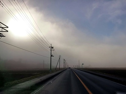 五里霧中…