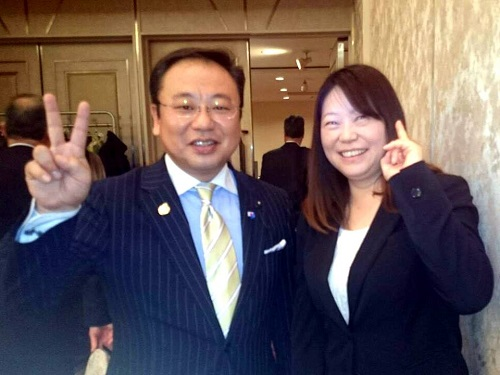 連合栃木宇河地域協議会≪2015年新春賀詞交歓会≫へ!⑦