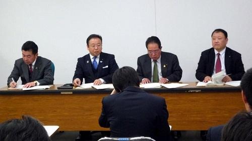 <民主党・無所属クラブ>対県予算化・政策推進要望に対する知事回答!