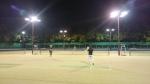 [2015-08-16]ナイターテニス