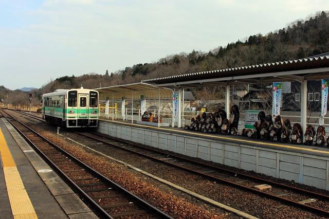 9信楽駅ホーム