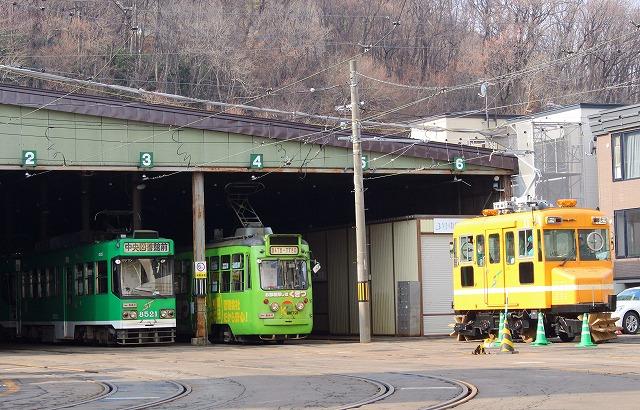 5電車車両センター車庫