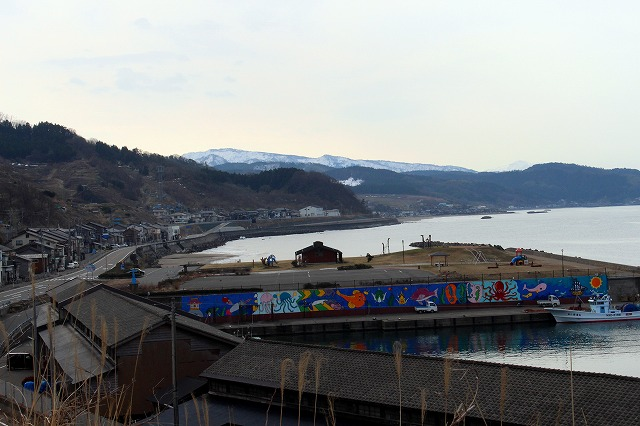 7高台からの漁港