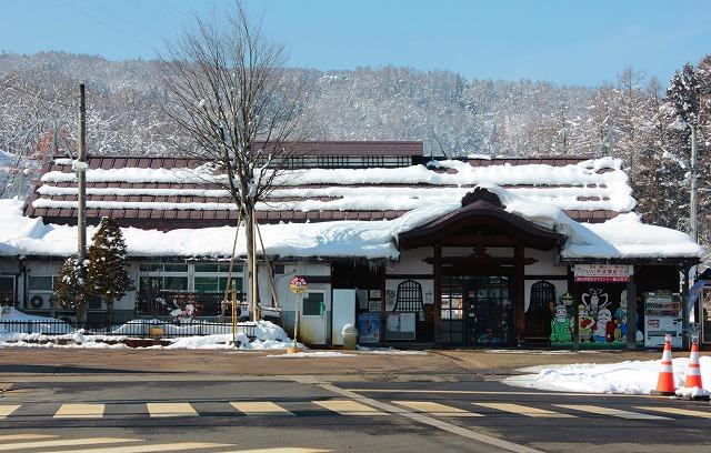 ⑧飯山駅舎