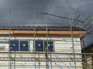 屋根が貼り変ったよ