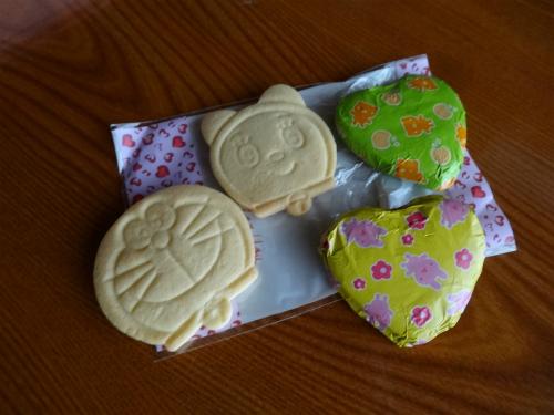 クッキーの中 手作りだそうです。