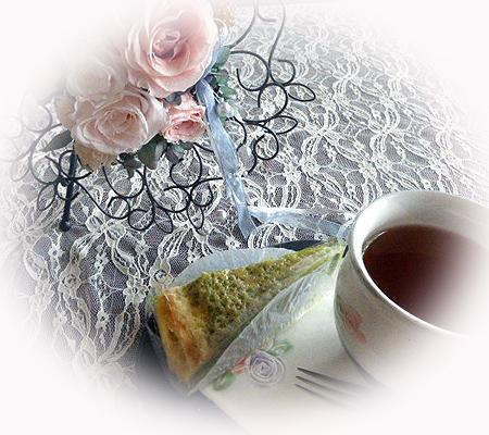 抹茶ミルフィ-ユ&ディンブラ