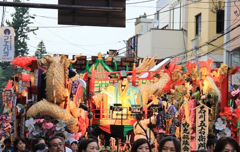 八戸三社大祭2015-10