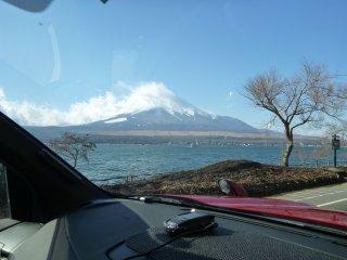 s9車中より富士山4
