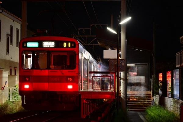 2015年7月25日 上田電鉄別所線 三好町 1000系1001編成