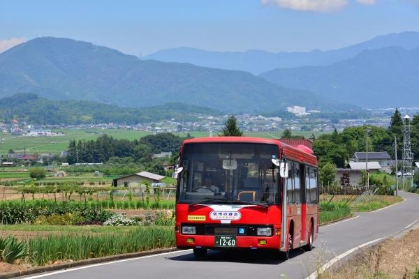 2015年7月26日 上田バス信州の鎌倉シャトルバス 西前山~中禅寺 H-012号車