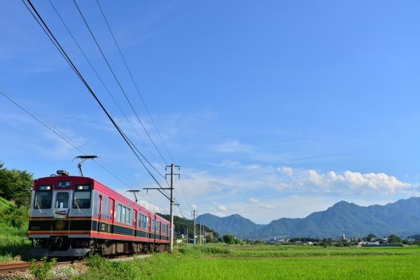 2015年7月26日 上田電鉄別所線 神畑~寺下 6000系6001編成