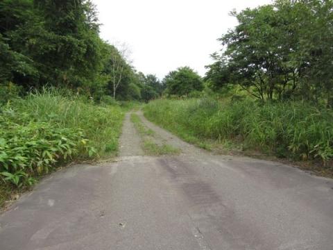 上多度志の旧道道