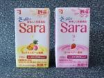 Sara ミックスフルーツ風味とストロベリー風味
