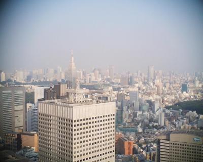 久しぶりに都庁から東京タワー:R2