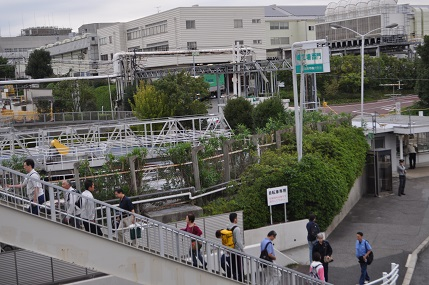 トヨタの堤工場