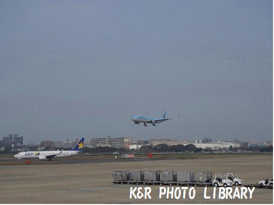 3月21日KE着陸