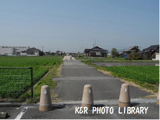 3月21日吉野ヶ里公園までの道