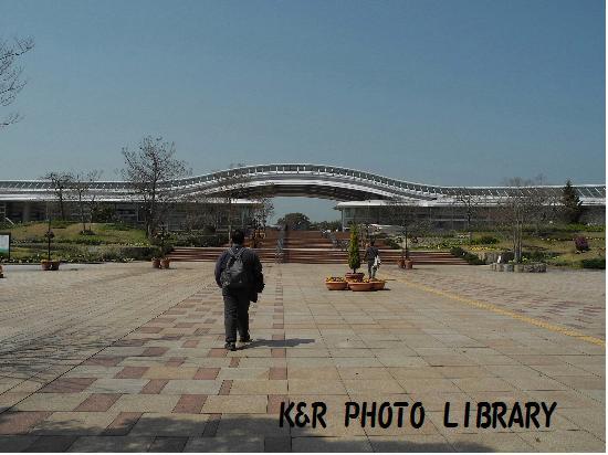 3月21日吉野ヶ里歴史公園入口