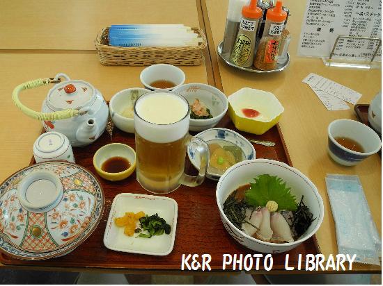 3月21日鯛茶漬定食&ビール