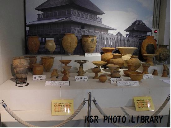 3月21日展示室の土器