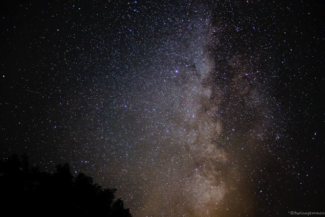 乗鞍より見える星空1