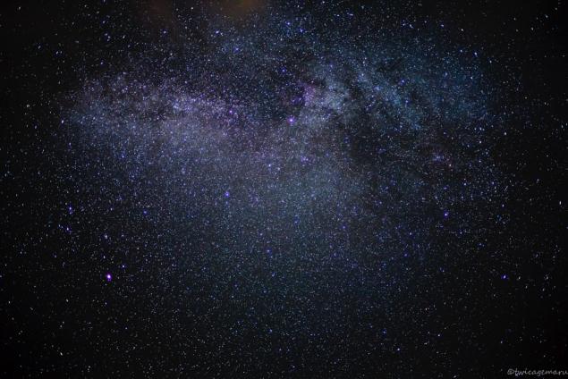 乗鞍より見える星空2