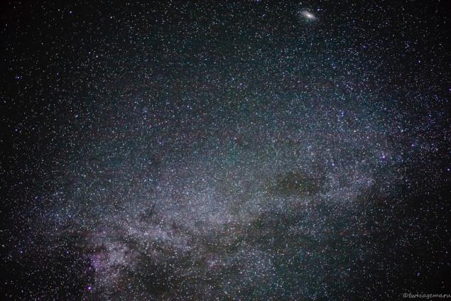 乗鞍より見える星空3