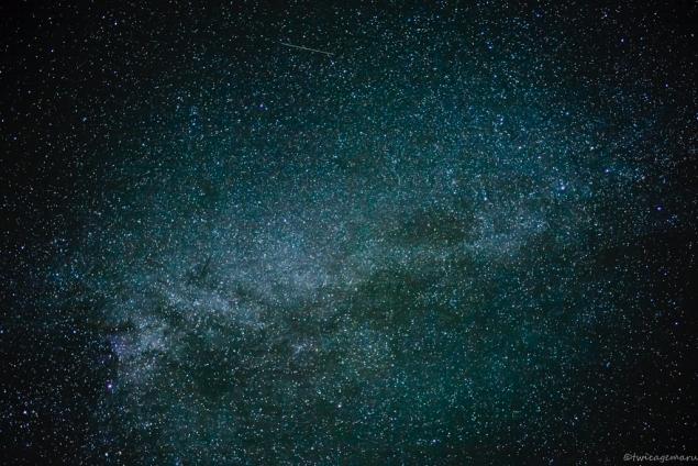 乗鞍より見える星空4