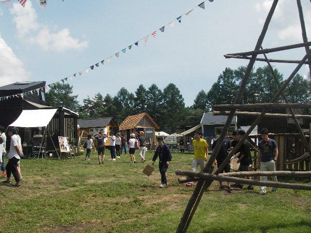 小屋フェス風景1