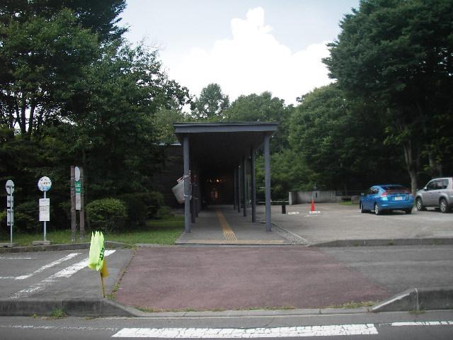 尖石縄文考古館入り口