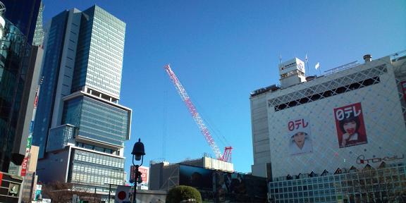 渋谷ヒカリエと東急百貨店