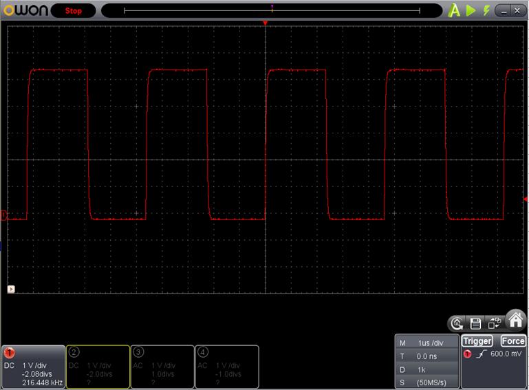 TX2とRX2を換装したときのFoscの調整波形5