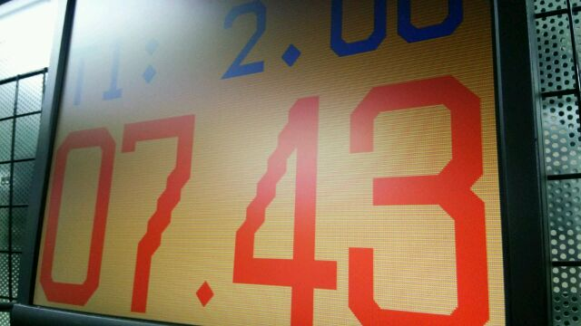 やっと743