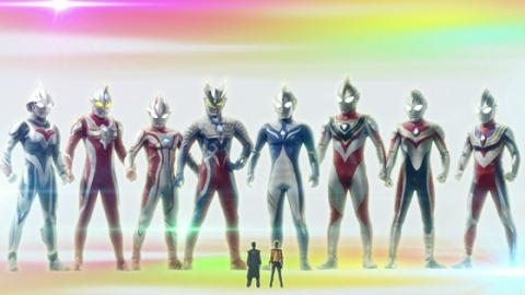 ヒカル隊員&ショウと、8人のウルトラマン