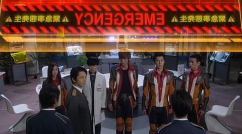 神山長官(演:岡田浩暉)よりビクトリウムキャノンの存在を知るUPG