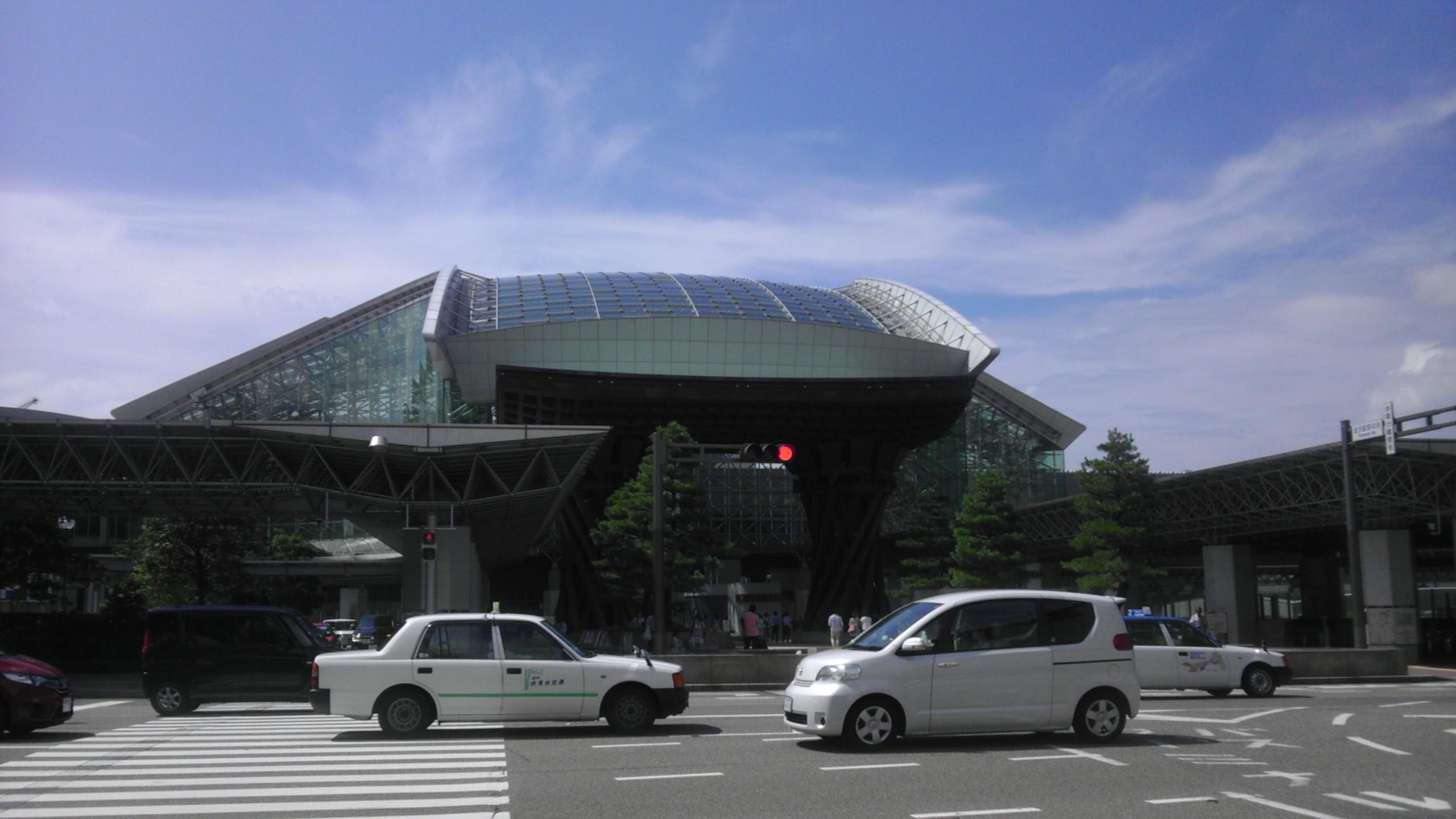 20150814 金沢街宣 金沢駅