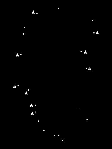 谷川岳略地図