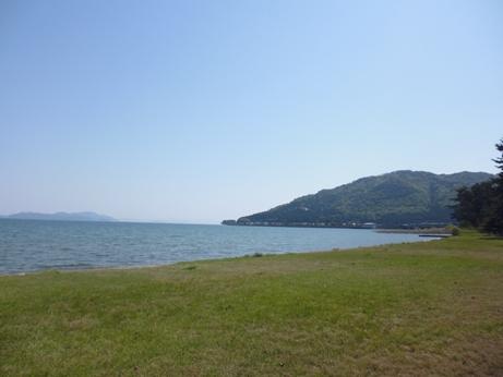 5月の琵琶湖